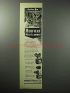 1955 Redfield Metaliic Sights Ad - 70; Sourdough; 80