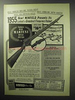 1955 Winfield Arms Ad - BSA Martini Rifle .310 Cal.