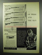 1955 Husqvarna Rifle Ad - Crown Grade; Super-Grade +