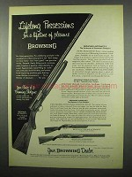 1955 Browning Shotgun Ad -  Superposed