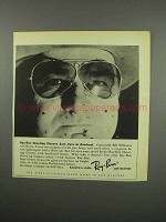 1955 Ray-Ban Shooting Glasses Ad - Save Eyes