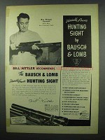 1953 Bausch & Lomb Hunting Sight Ad - Bill Nittler