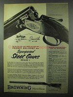 1953 Browning Superposed Skeet Grade I Shotgun Ad