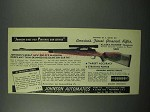 1953 Johnson Alaska Hunter Magnum Rifle Ad