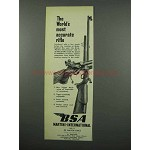 1953 BSA Martini-Internation Rifle Ad - Most Accurate