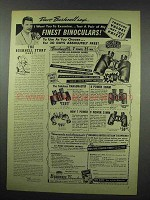 1952 Bushnell Binocular Ad - The Bushnell Story Part I