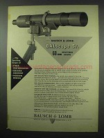 1952 Bausch & Lomb Advertisement - BALscope Sr. Scope