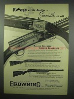 1952 Browning Superposed Grade II Shotgun Ad