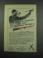 1952 Ithaca Gun Featherlight Repeaters Ad - The Rest