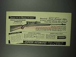 1952 Johnson Featherweight Sporter Rifle Ad - Finest