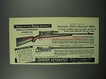 1952 Johnson Featherweight Sporter Rifle Ad
