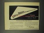 1952 Weatherby Custom Built Rifle Ad - Precision