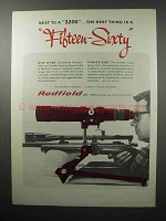 1970 Redfield Scope Ad - 15-60x Spotting, 3200 Target