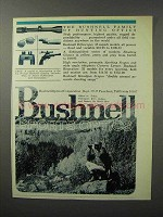 1970 Bushnell Optics Ad - Family of Hunting Optics