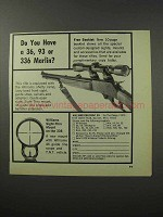 1970 Williams Gun Sight Ad - Have a 36 93 or 336 Marlin