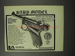 1970 Erma Bard Model Pistol Ad - Rarest of the Rare!