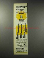 1969 Sheridan All-American Pneumatic Rifle Ad - Power