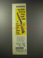 1969 Sheridan All-American Pneumatic Rifle Ad - Ideal