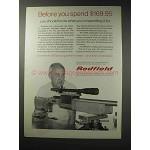 1969 Redfield 3200 Target Scope Ad - Before You Spend