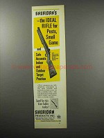 1968 Sheridan All-American Pneumatic Rifle Ad - Ideal