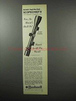 1968 Bushnell Scopechief IV Scope Ad - Mount's Built-in