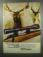 1968 Weaver V9 Scope Ad - Don't Have to Be An Expert