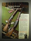 1968 Remington Model 742 and 742 BDL Deluxe Rifles Ad