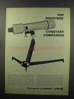 1968 Bausch & Lomb Balscope Spotting Scope Ad