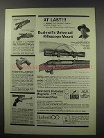 1967 Bushnell Universal Mount Ad - At Last!