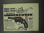 1967 Charter Arms .38 Special Undercover Revolver Ad