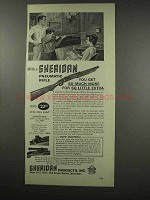 1966 Sheridan Pneumatic Rifle Ad - For So Little Extra