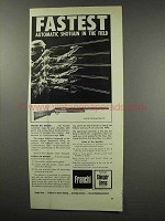 1966 Franchi Hunter Grade Automatic Shotgun Ad
