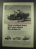 1965 Jeep Ad - Universal, Wagoneer and Gladiator