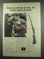 1965 Charles Daly Shotgun Ad - When Man and Gun Are One