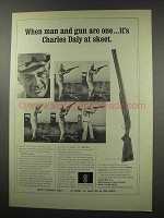 1965 Charles Daly Shotgun Ad - Man And Gun Are One