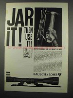 1965 Bausch & Lomb Scopes Ad - Jar It!