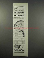 1965 Federal Center Fire Primers Ad - Improved!