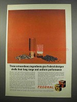 1965 Federal Hi-Power and Field Load Shotgun Shells Ad