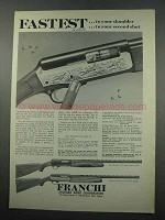 1965 Franchi Dynamic 12 and Automatic Shotgun Ad