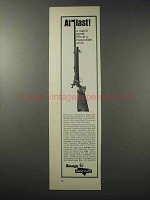 1965 Savage / Anschutz Model 64 Rifle Ad - At Last!