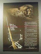1965 Weatherby Mark V Magnum Rifle Ad - Most Copied