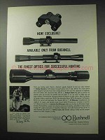 1964 Bushnell Scopes and Binoculars Ad - Exclusive