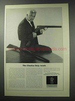 1964 Charles Daly Shotgun Ad - The Touch