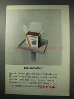1964 Federal Target Load Shotgun Shell Ad - Better