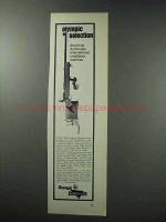 1964 Savage / Anschutz Model 1413 Match 54 Rifle Ad