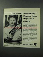 1964 Bausch & Lomb Scopes Ad - Tom Suter