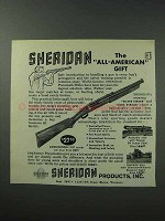 1964 Sheridan Pneumatic Rifle Ad - All-American Gift
