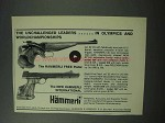 1964 Hammerli Free and International Pistol Ad