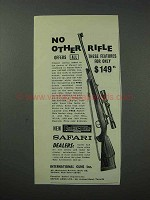 1964 Parker-Hale Safari Super Rifle Ad - No Other Rifle