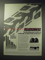 1988 Avon AM20 Front and AM21 Rear Motorcycle Tire Ad